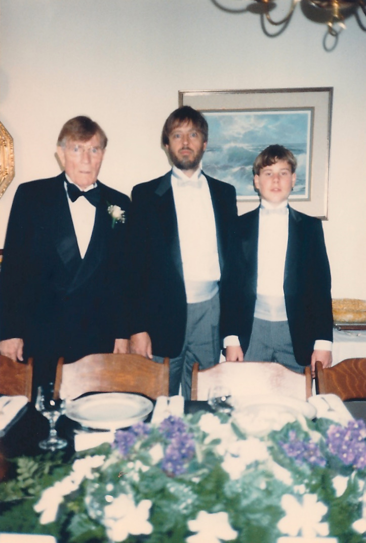 Philip, Stephen & Geoffrey Adams
